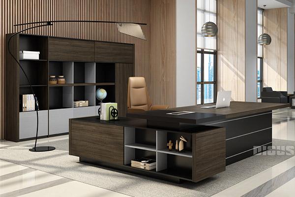 迪欧办公室家具老板桌大班台生产厂家-明智