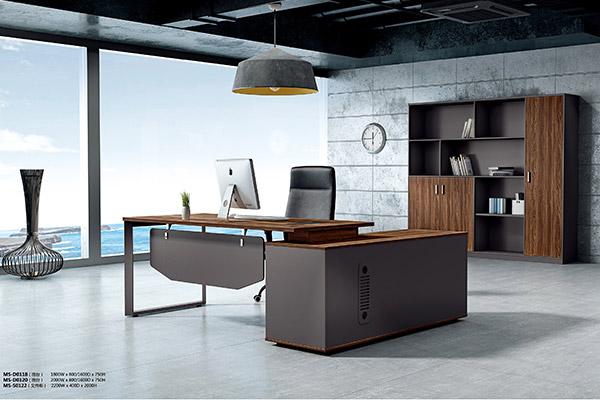 企业单位办公室主管经理办公桌办公用家具-森雅图