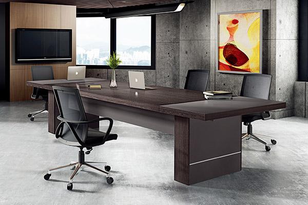 现代企业公司职员会议接待台洽谈会议桌-森雅图