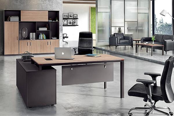 中小型事业单位主管经理办公桌椅订购厂家-森雅图