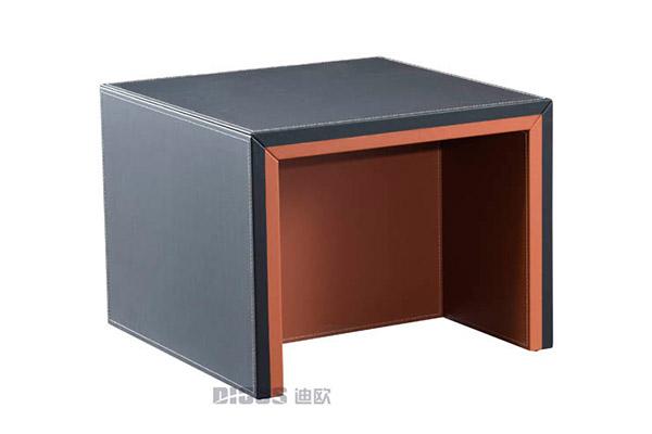 新中式老板办公室正方形茶几办公用家具-致德