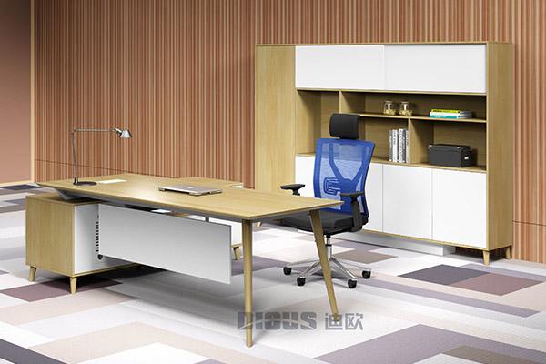 企业时尚主管经理办公台办公室办公桌厂家-致雅
