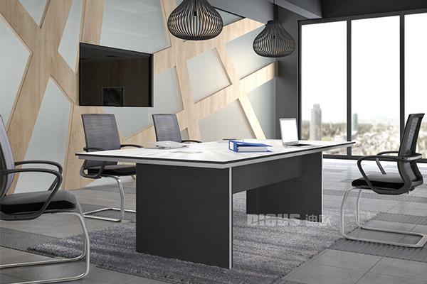 企业商务会议洽谈台办公室员工会议桌-优诺