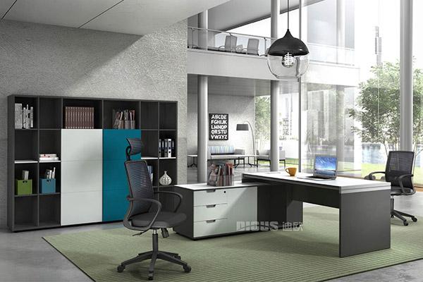 现代事业公司主管胶版办公桌行政桌-优诺
