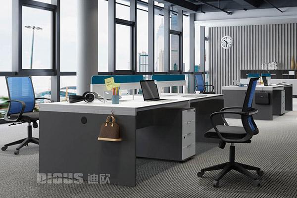 现代职员组合办公桌椅批发厂家-优诺