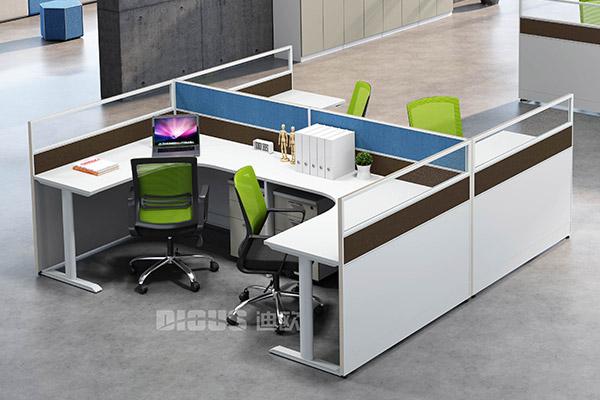 公司企业办公家具员工办公桌职员屏风卡位-卓雅