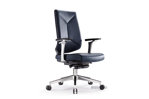 钢制时尚黑色商务休闲会议洽谈椅办公椅-ODM