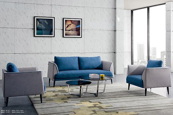 企业单位人事公共区域洽谈休闲办公沙发-森雅图