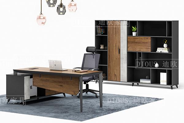 新现代时尚办公室空间主管经理办公桌椅