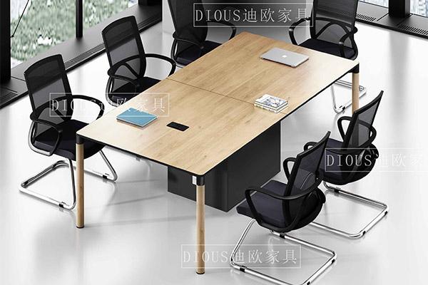 企业办公楼简约职员洽谈办公会议桌椅
