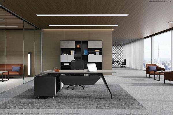 迪欧家具启航系列 - 个性时尚老板创业办公桌