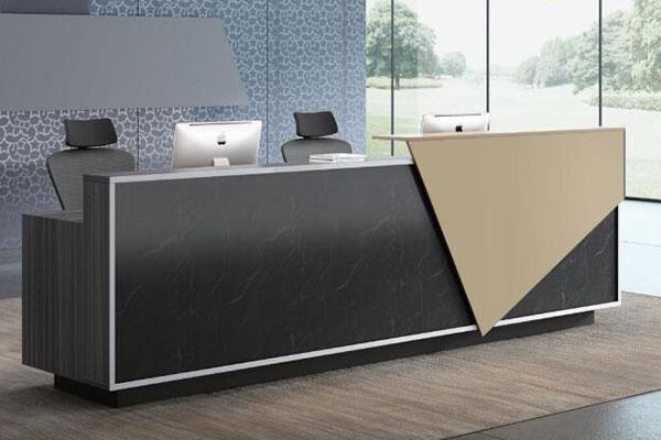科沃系列 - 现代简约定制前台办公桌